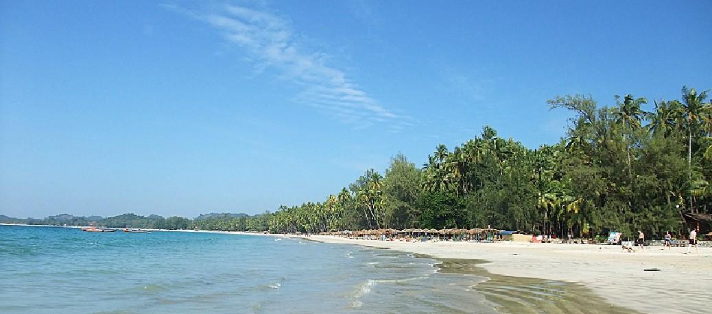 ガパリビーチ(Ngapali Beach)