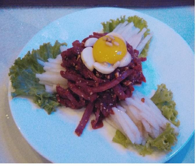 平壌韓国レストラン6