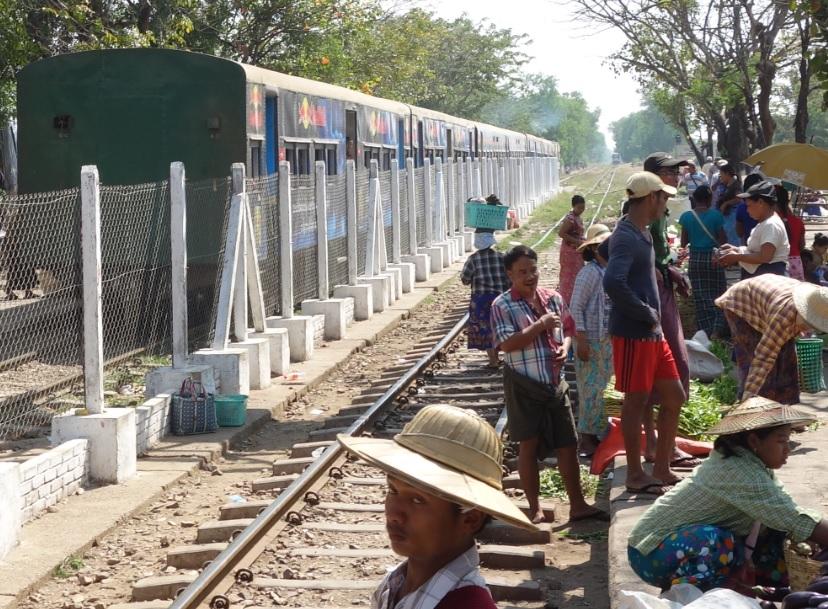 ヤンゴン市場_38