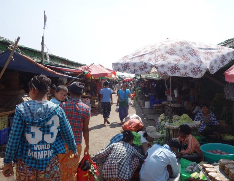 ヤンゴン市場_18