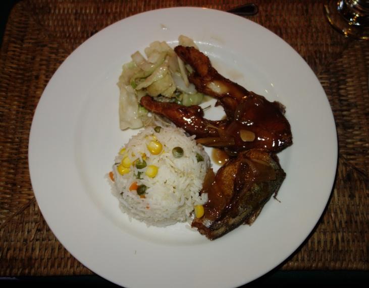 Myanmar Andaman Resort での初日の夕食24