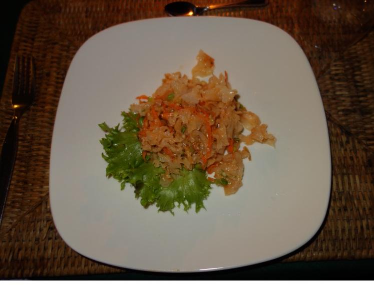 Myanmar Andaman Resort での初日の夕食21