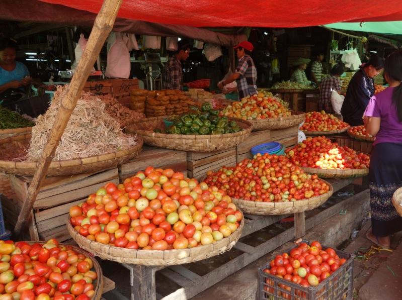 ヤンゴン市場_19