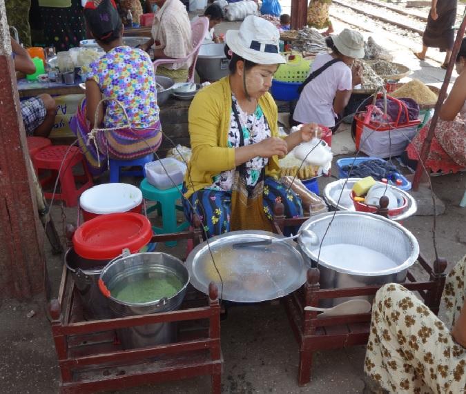 ヤンゴン市場_15