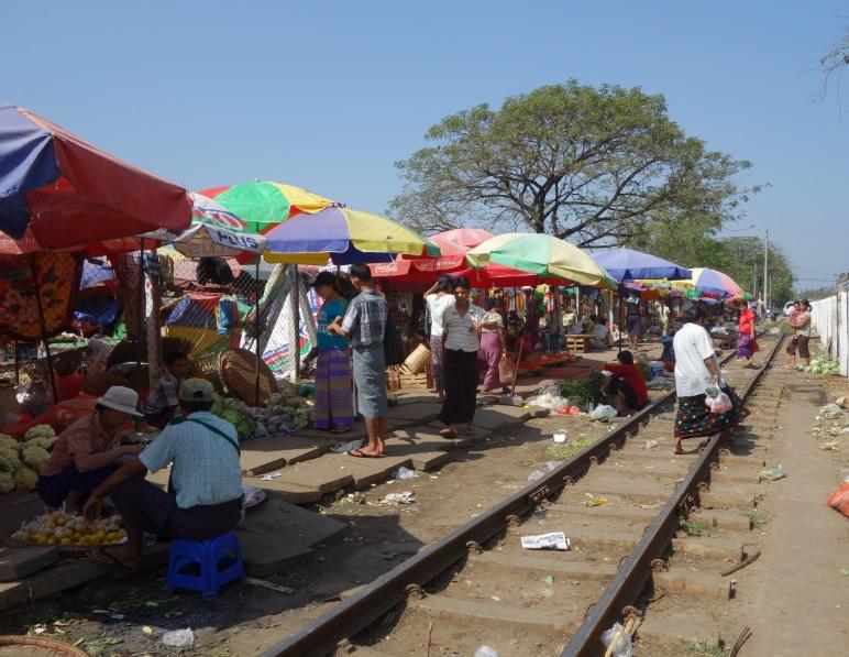 ヤンゴン市場_34