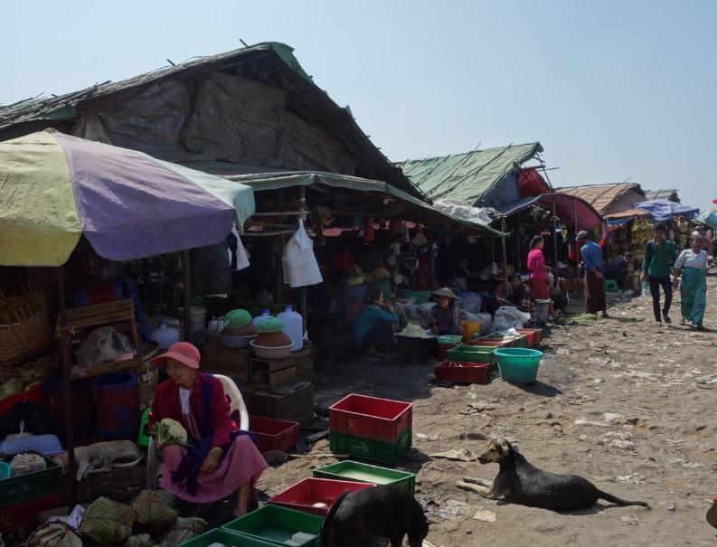 ヤンゴン市場_3