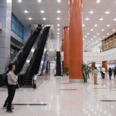 明日12/9から国内線は新しいターミナルビルでございます
