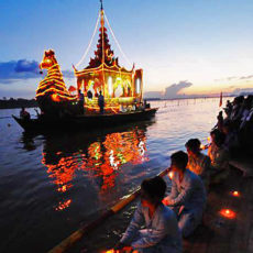 Shwe Kyin Light Floating Festival