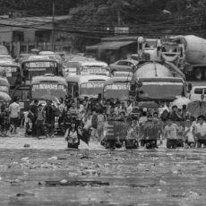 2017年6月4日のヤンゴン洪水