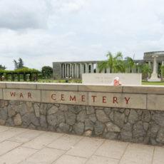 タウチャンの連合軍墓地の今