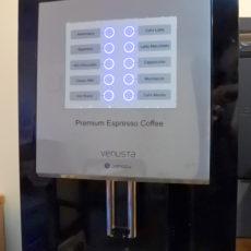 コーヒーマシーンを設置