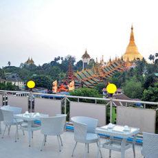 シュエダゴンパヤに最も近いホテル
