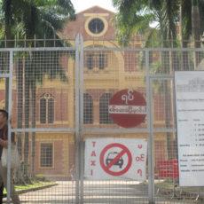 アウンサン将軍が暗殺された旧ビルマ政庁を日々見学出来る様になりました