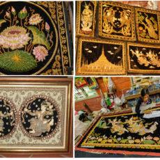 ミャンマーの伝統的な刺繍工芸のご紹介