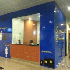 ヤンゴン空港の荷物預かり所がOPEN