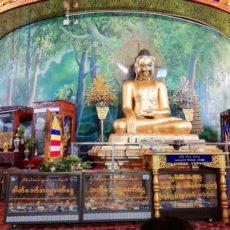 ミャンマー歴の元日を迎えています