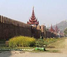 ミャンマー最後の王朝マンダレー首都