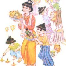 ミャンマー人が大切にしているタディンジュ満月